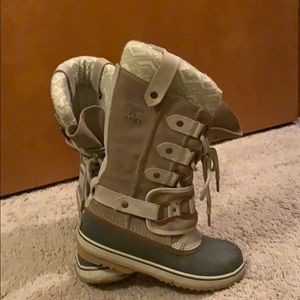 Sorel Knitted Tall Winter Boots